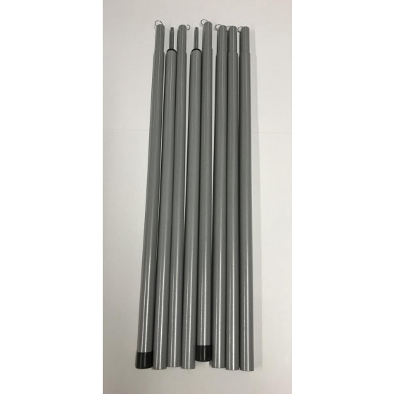 Replacement Awning Poles For Trespass 8 Man 2 Room Tent ...