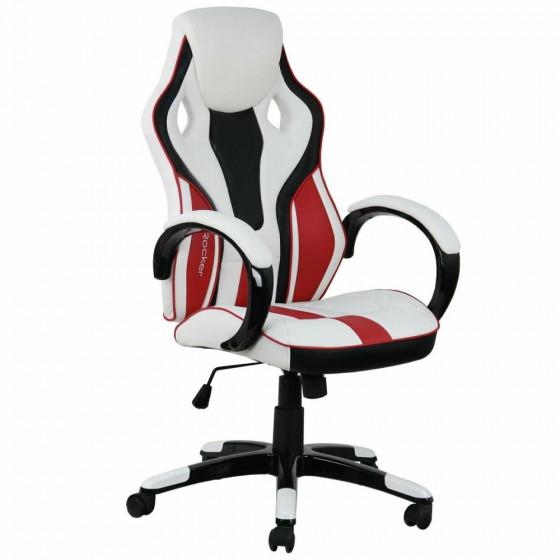 X-Rocker Maverick Ergonomic Office Gaming Chair - White