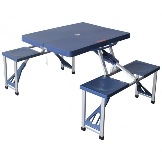 Folding Camping Picnic Table And Stools