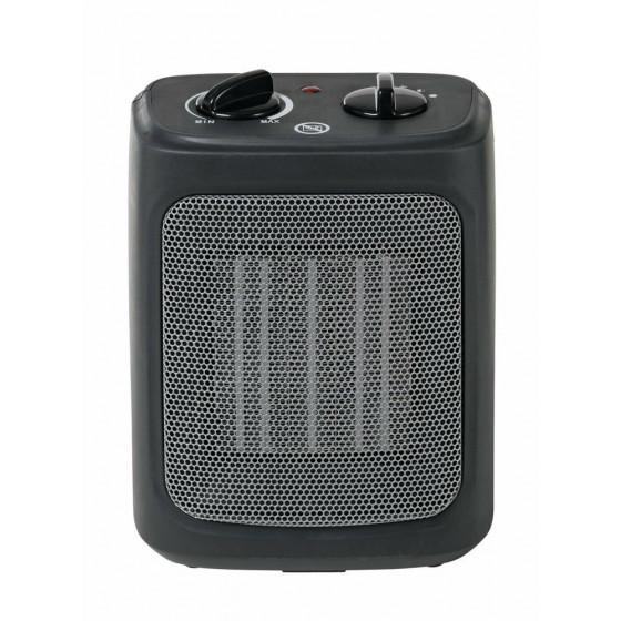 Challenge 2kw Ceramic Upright Fan Heater - Black/Grey
