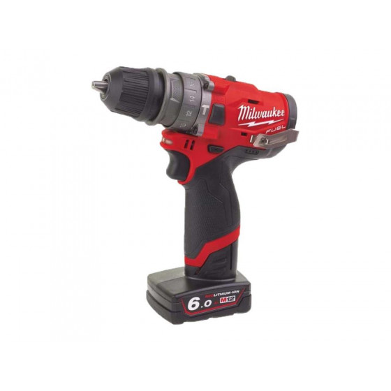 Milwaukee M12FPDXKIT-602X 12v Removable Chuck Percussion Drill