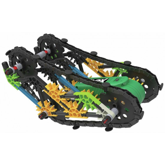 K'NEX Mountain Crusher Tank Building Set.