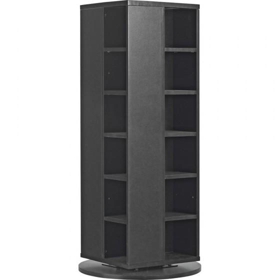 Twister Dvd And Cd Media Storage Unit Black Storage