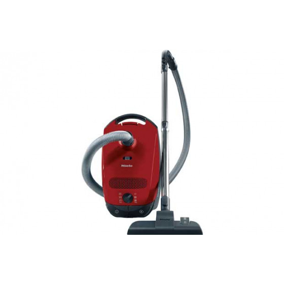 Miele C1 Powerline Bagged Cylinder Cleaner - Red