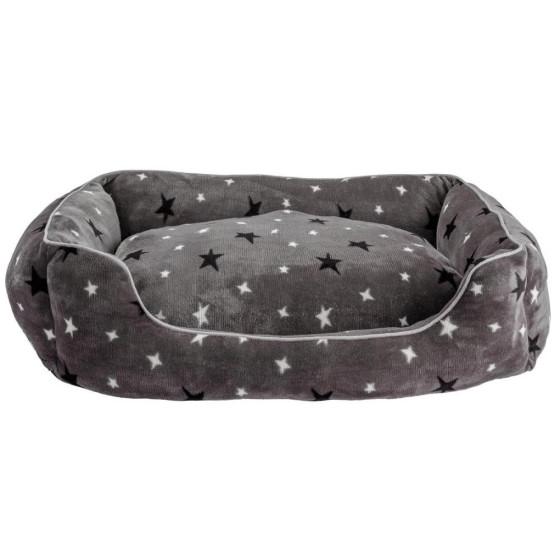 Home Stars Plush Square Bed - Extra Large