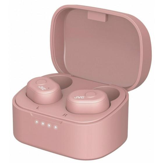 JVC HA-A10T-P-U In-Ear True Wireless Earbuds - Pink