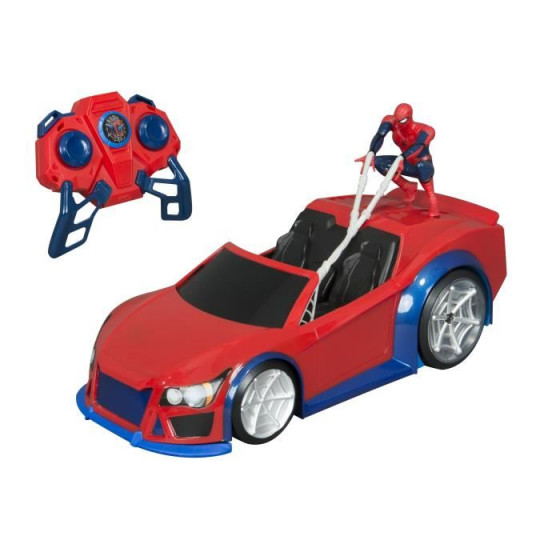 Marvel Spiderman RC Web Wheelie Car