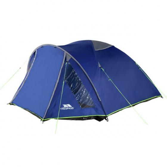 Trespass 4 Man 1 Room Dome Tent