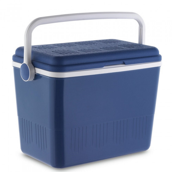 Campos 42L Lightweight Plastic Cool Box - Blue