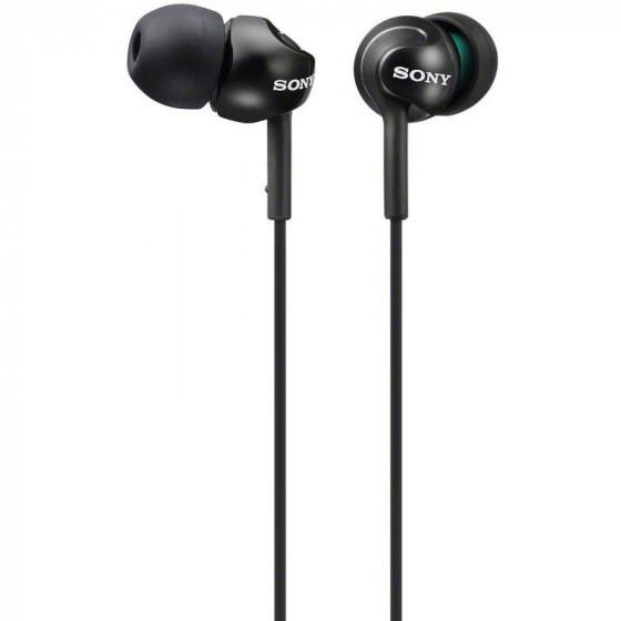 Sony EX110 In-Ear Headphones - Black