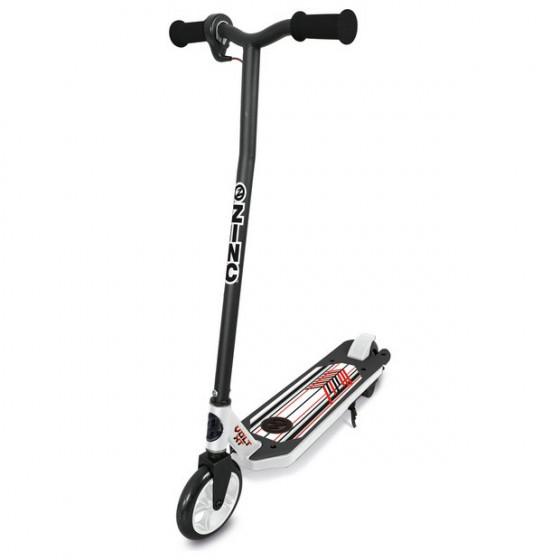 Zinc Volt XT Electric Scooter - Black/White