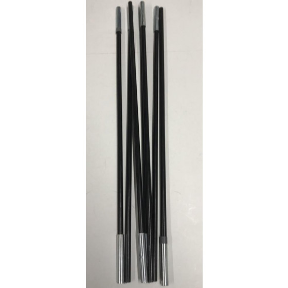 Replacement Grey Colour Coded Pole For Trespass 4 Man Dome Tent - 3070374