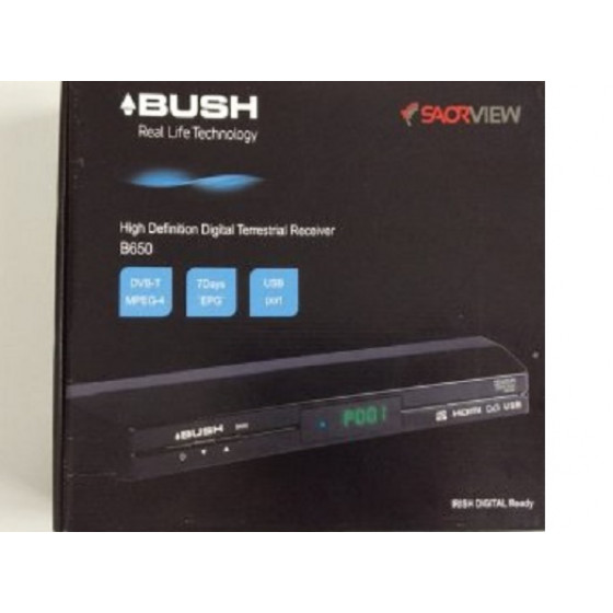 Bush B650 Saorview High Definition Digital Terrestrial Receiver