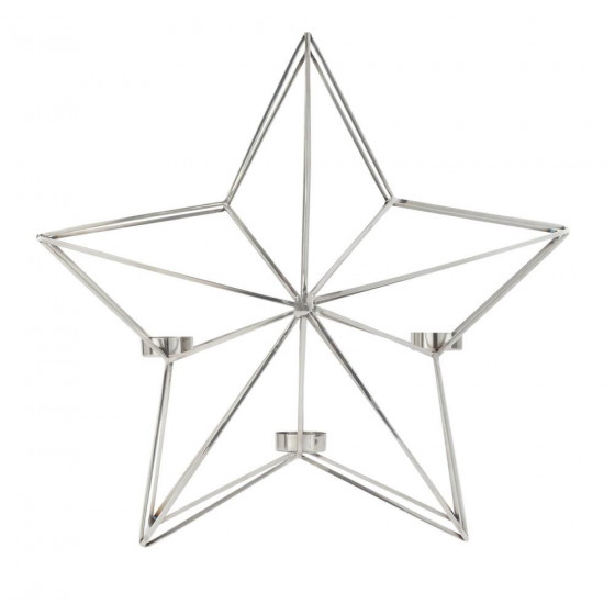Home Winters Cabin Christmas Star Tealight Holder