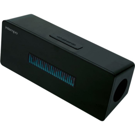 Intempo Graphic Wireless Bluetooth Speakers - Black-(Unit Only)