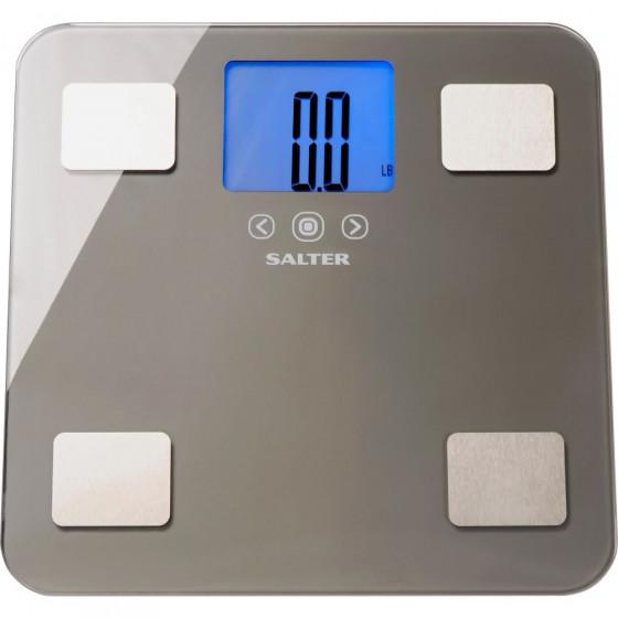 Salter Charcoal Maximum Capacity Body Analyser Scale
