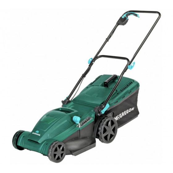 McGregor 40cm Corded Rotary Lawnmower - 1900W (No Grass Box Handle)