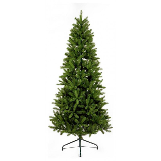 Premier Decorations 7ft Pre-lit Leighfield Pine Christmas Tree - Green
