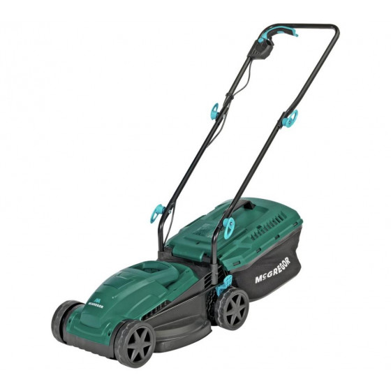McGregor MER1232 32cm Corded Rotary Lawnmower - 1200W