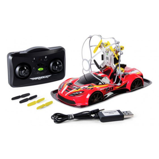 Air Hogs Radio Controlled 2-in-1 Drone Power Racers - Red