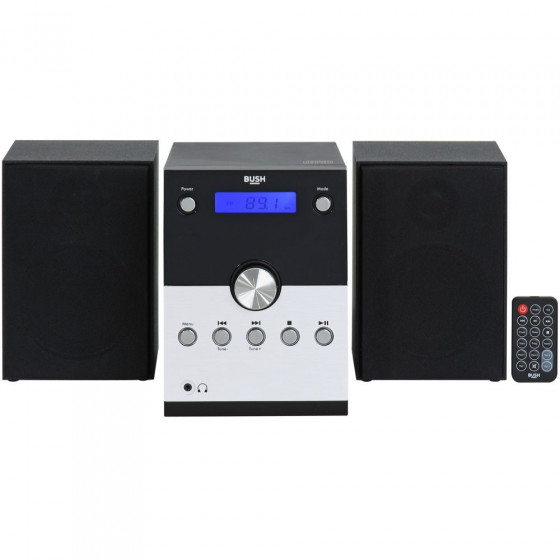 Bush Bluetooth Micro System - Black