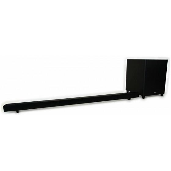 Hitachi AXS460BTU 2.1Ch Sound Bar With Wireless SubWoofer (No Wall Brackets)