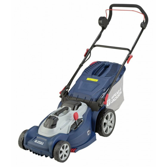 Spear & Jackson 44cm Cordless Rotary Lawnmower - 36v (No Batteries & No Charger)
