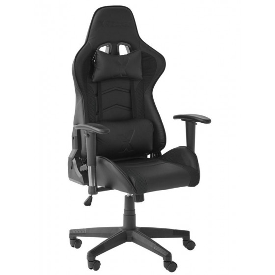X-Rocker Faux Leather Ergonomic Office Gaming Chair - Black