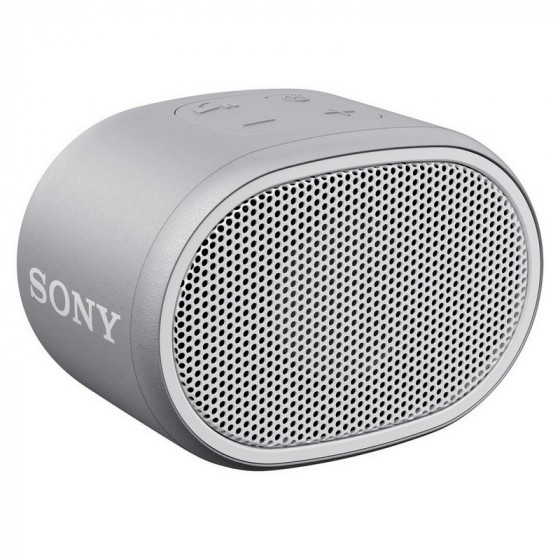 Sony SRS-XB01 Compact Wireless Speaker - White (No Carry Strap)