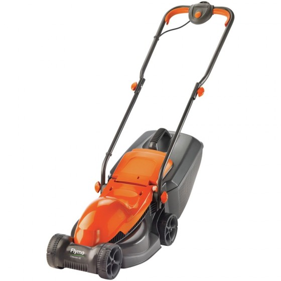 Flymo Chevron 32 Corded Rotary Lawnmower - 1000w