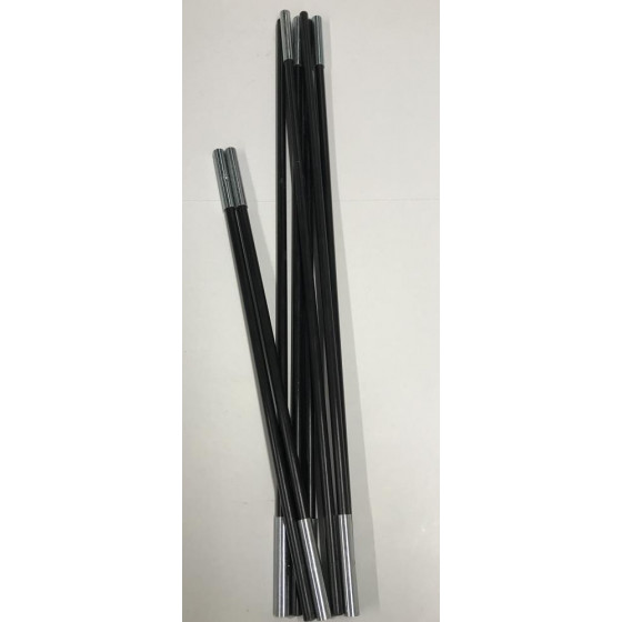 Replacement Black Pole For Trespass 4 Man 2 Room Tunnel Tent 2934239