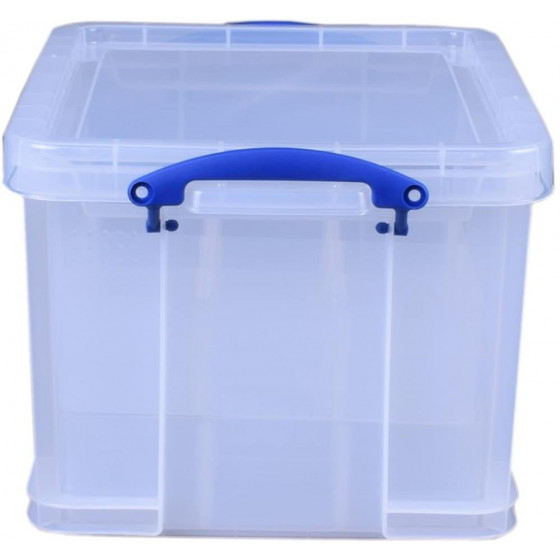 Really Useful 35 Litre Clear Bauble Box