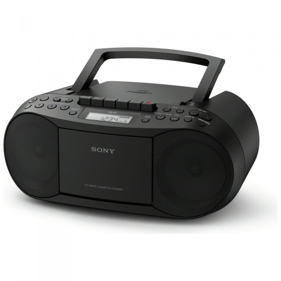 Sony CFD-S70 CD and Cassette Player – Black