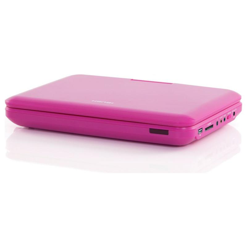 bush 10 inch pink portable dvd player no remote control portable dvd players dvd blu ray. Black Bedroom Furniture Sets. Home Design Ideas