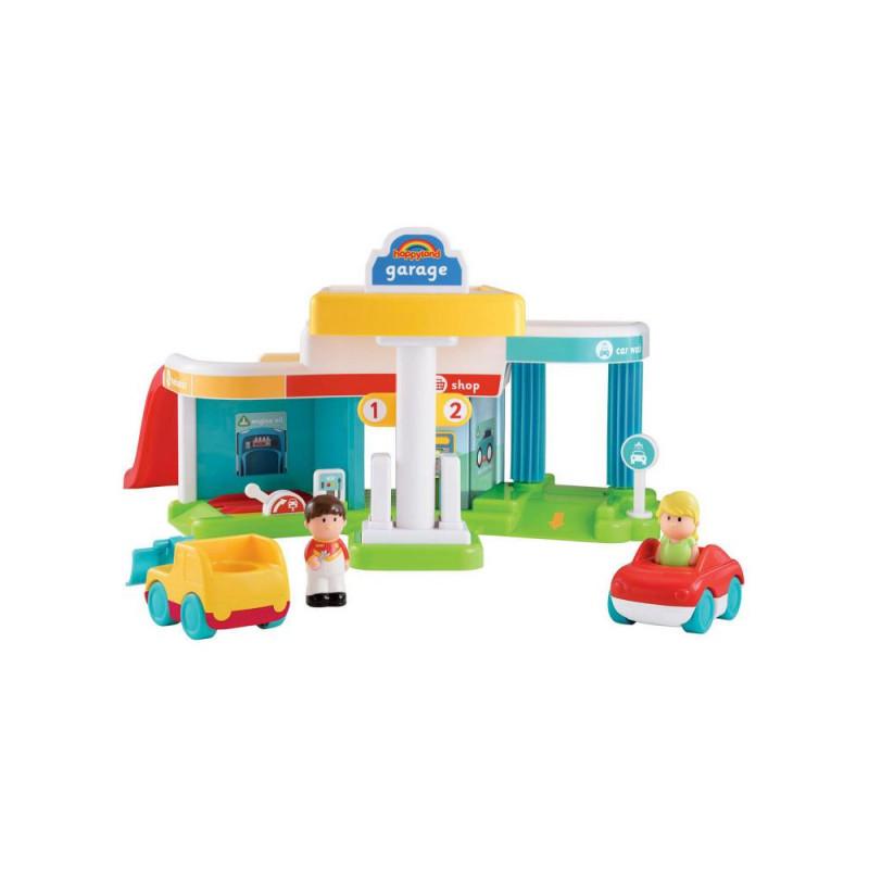 Early Learning Centre HappyLand Super Sounds Garage Set ...