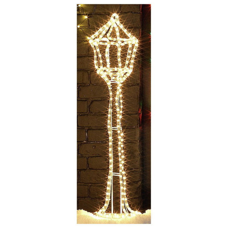 3d lamp post christmas decoration - Light Post Christmas Decorations
