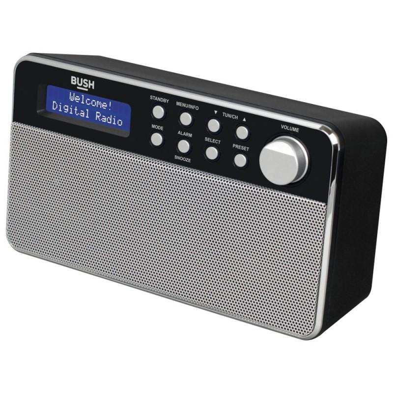 Bush Stereo Dab Radio Black Dab Digital Radios Home