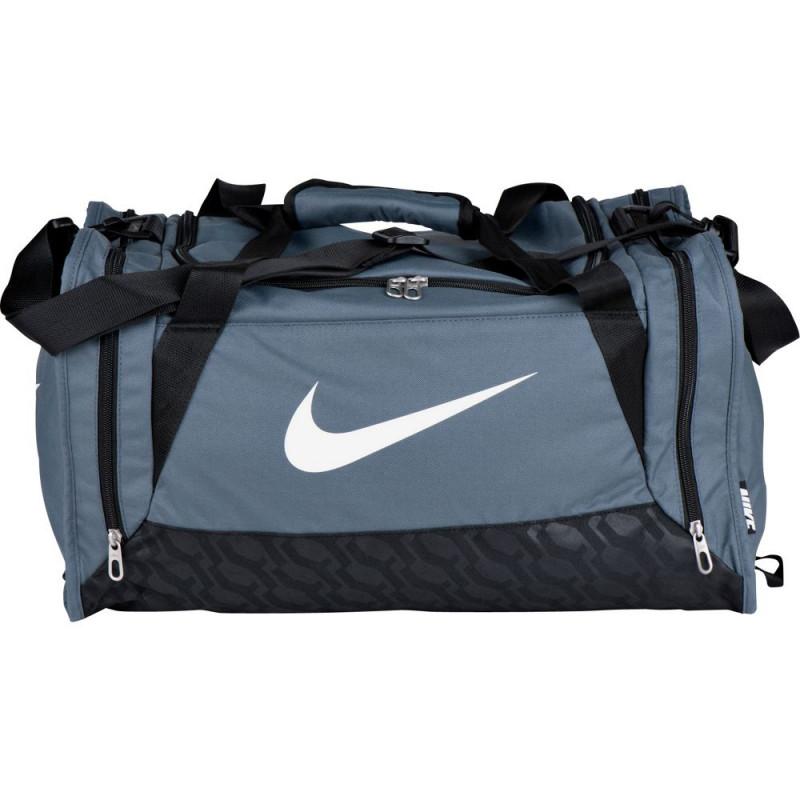 55bf4053a Nike Brasilia Small Holdall - Grey - Luggage & Bags - Travel ...