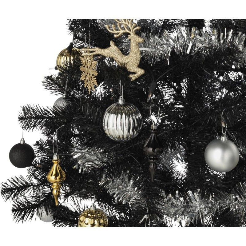 Ready To Dress Luxe Black Christmas Tree 6ft