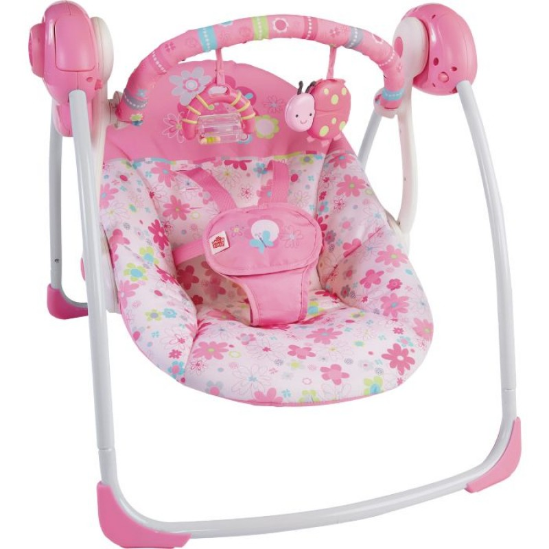 Bright Starts Blossomy Blooms Baby Swing