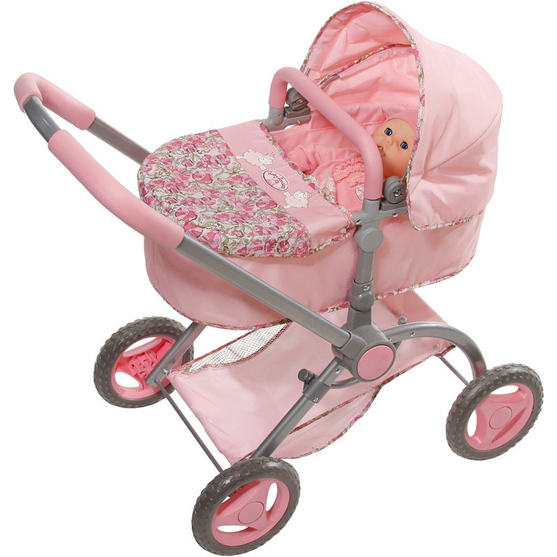 Baby Annabell 2-in-1 Fashion Pram - Dolls & Playsets ...