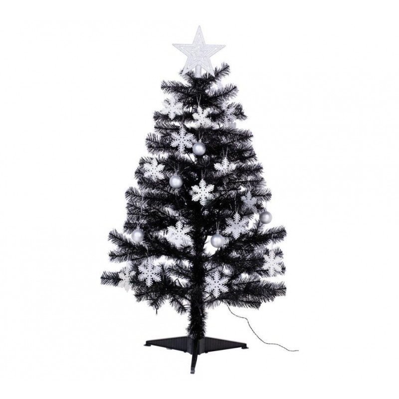 6 Foot Black Christmas Tree