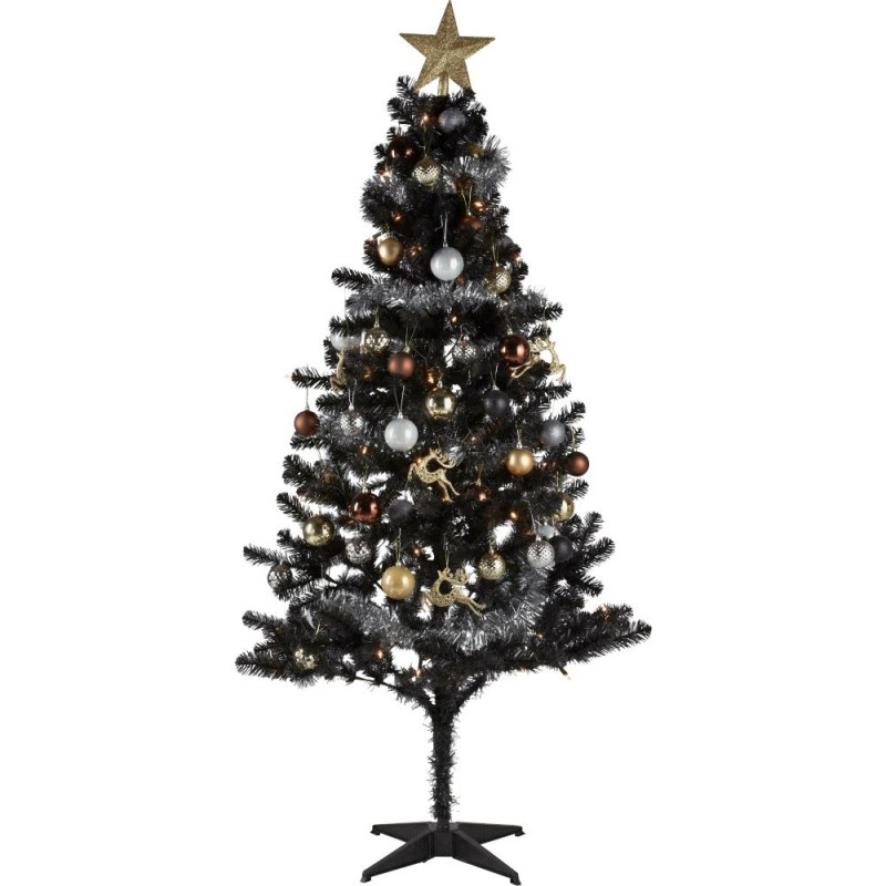 Ready To Dress Luxe Black Christmas Tree