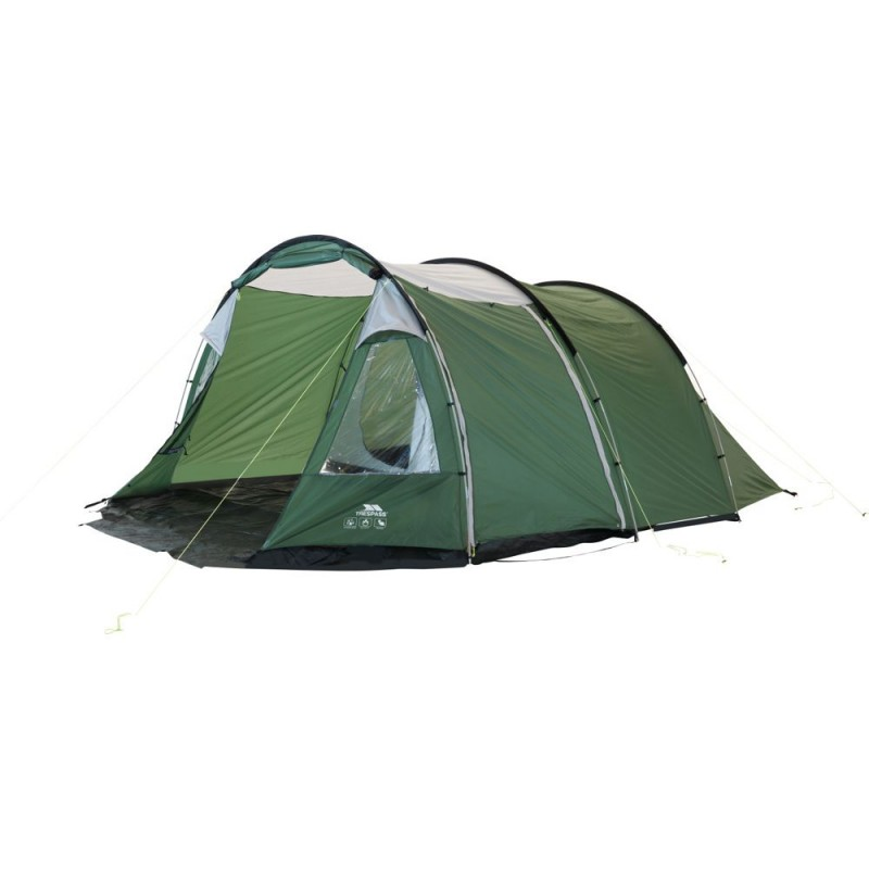 Trespass 6 Man 2 Room Tunnel Tent Tents Travel