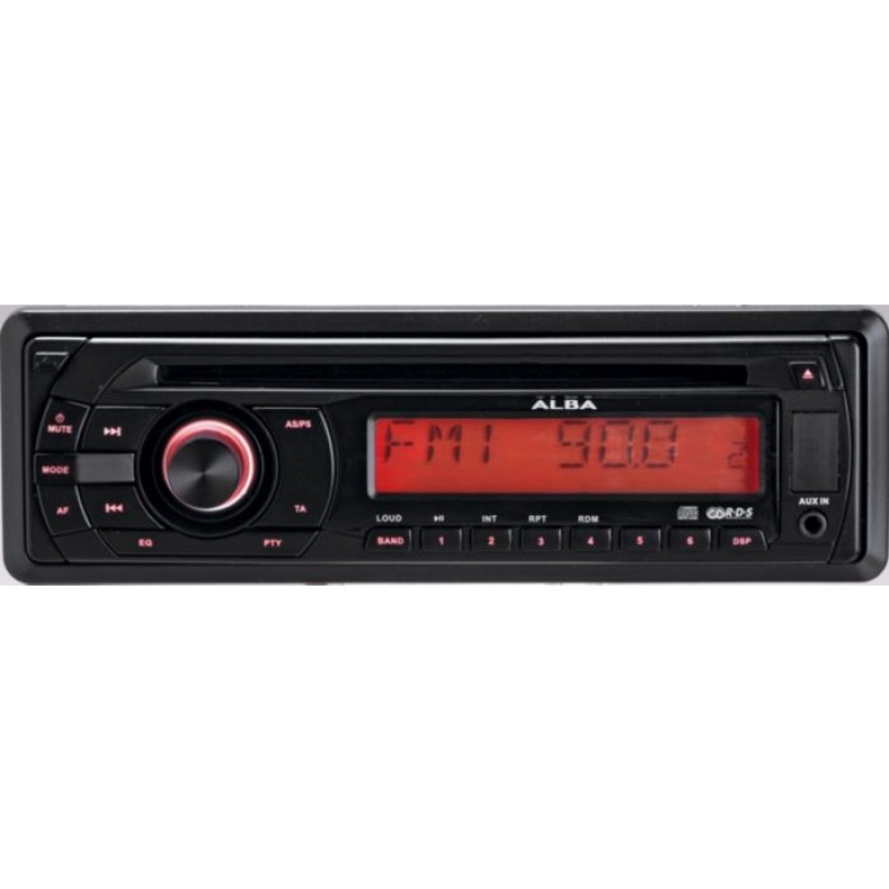 alba ics105 car stereo with cd player car accessories. Black Bedroom Furniture Sets. Home Design Ideas