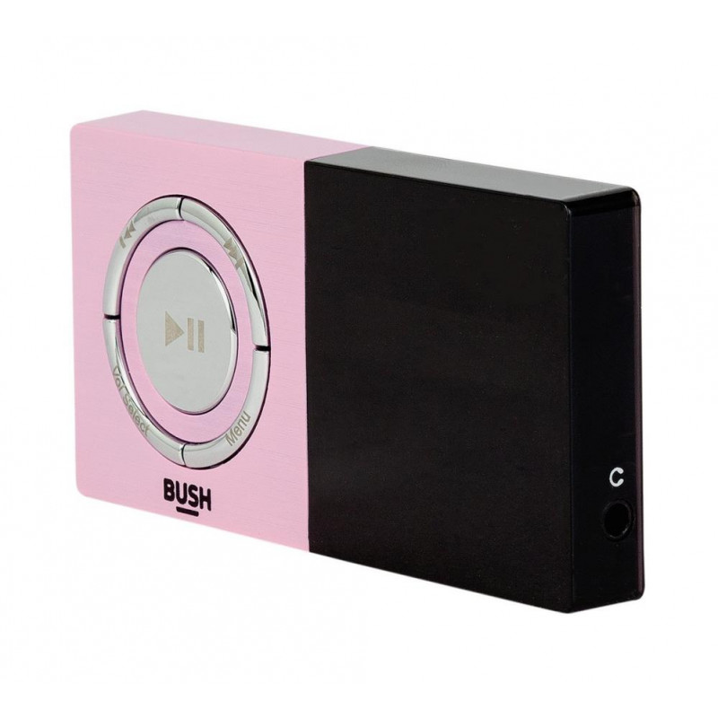Bush Kw Mp03 8gb Mp3 Player Pink Mp3 Players Amp Docking