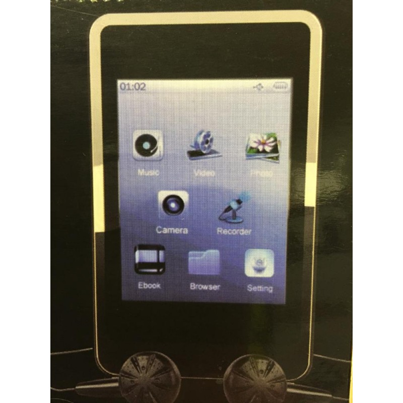 Bush 8GB 2 8 Inch Touchscreen MP3 Player with Video - MP3 Players