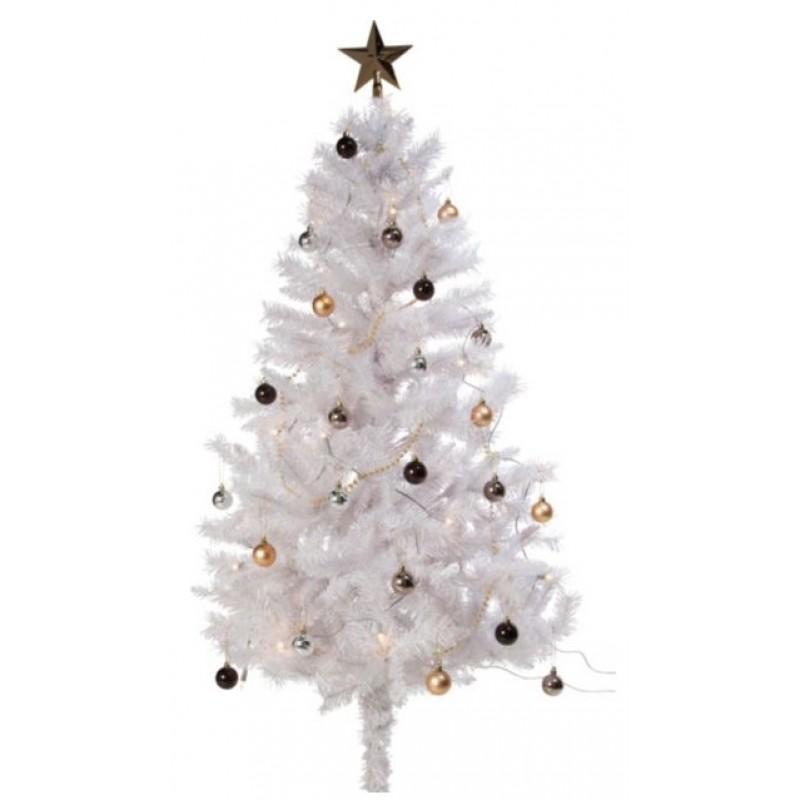 white iridescent christmas tree 5ft no base - Iridescent Christmas Tree Decorations