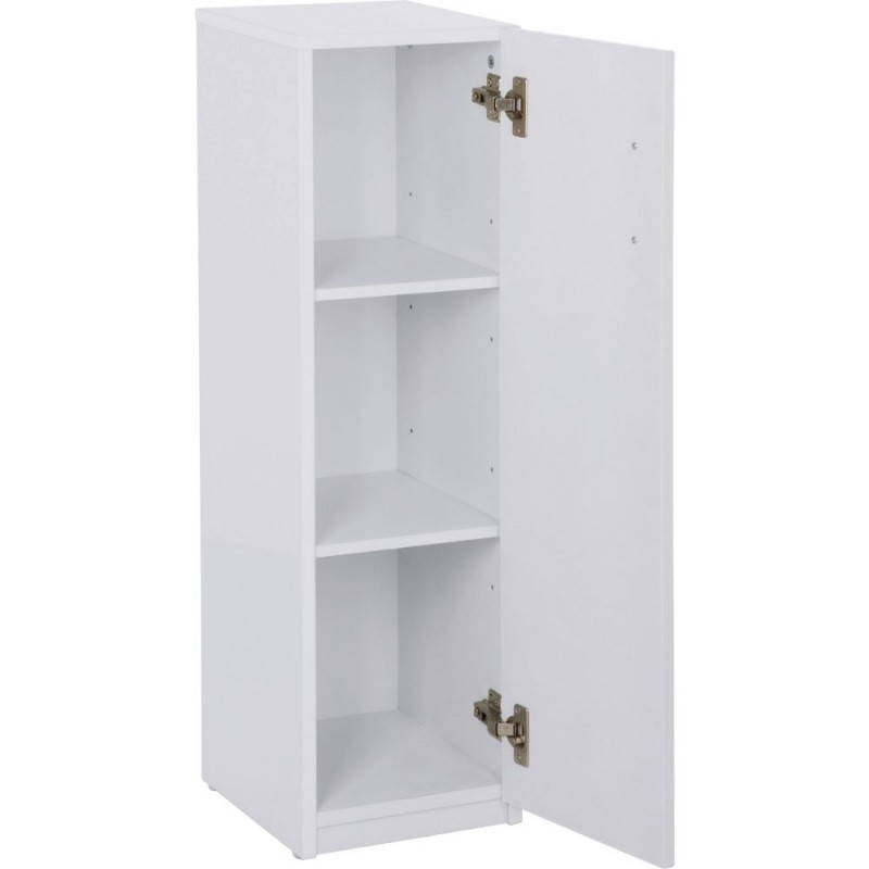 bathroom floor cabinet with drawer hygena single door bathroom floor cabinet white gloss 11483