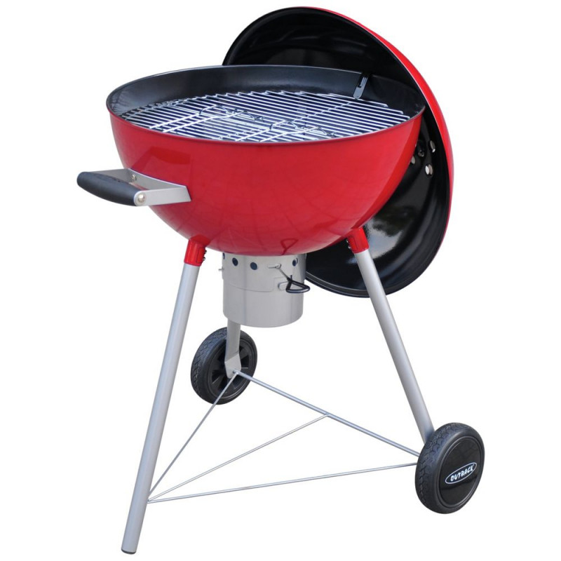 Outback Red Comet Round Charcoal Bbq Barbecues Travel